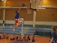 Stage de basket - avril 2013