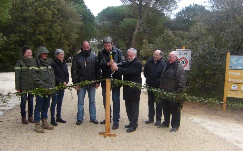 Les Portes - Inauguration parking de Trousse Chemise - 21 février 2015