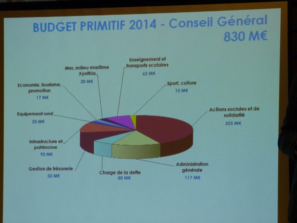 Conseil général - Budget primitif 2014