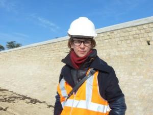Caroline Poulain - Responsable de la gestion des digues