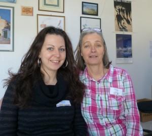 Krisiana Stoilova et Marilyne Hernandez