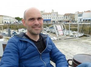 Stéphane Bahic, auteur du Sel de Ré