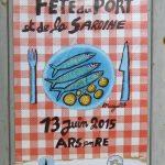 Ars, les sardines s'affichent à la Fête