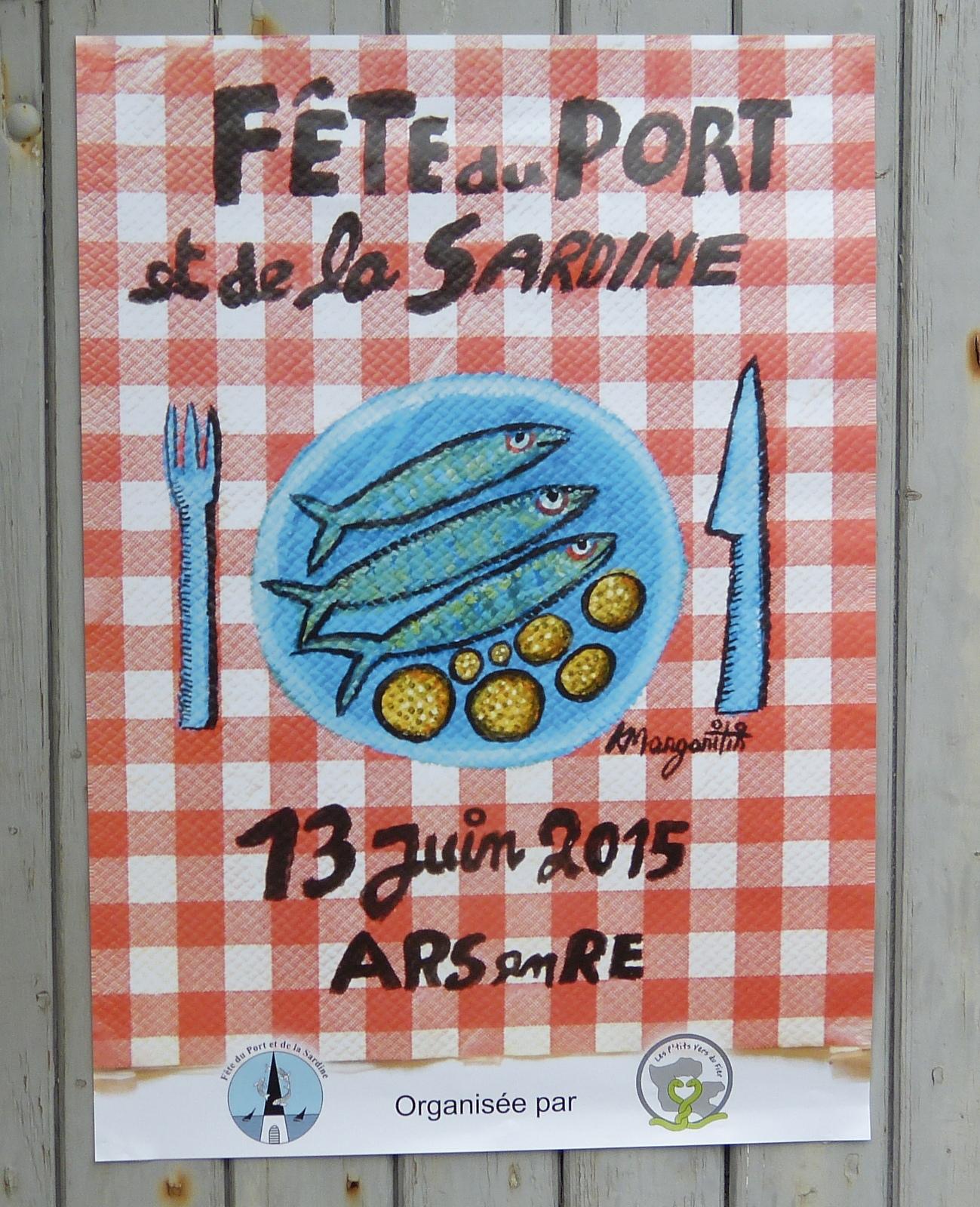 Fête de la sardine 2015 - Visuel Katherine Margaritis