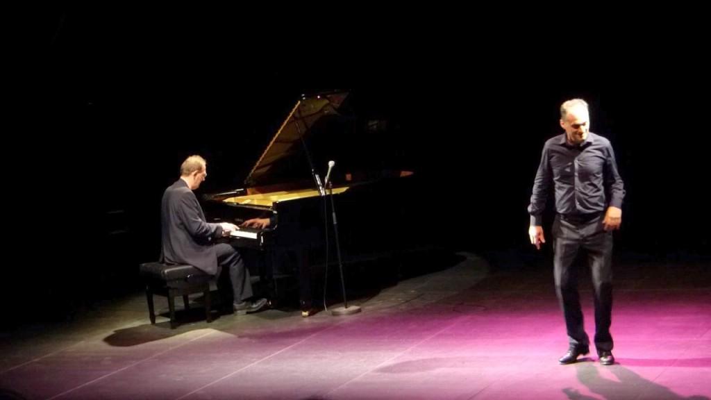 Fabien Ruiz (claquettes) et Michel Van Der Esch (piano)