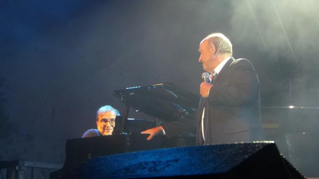 Michel Jonasz et Jean-Yves deAngelo - jazz au Phare - 18 août 2015
