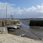 La Flotte : porte à flots, parapets et batardeaux