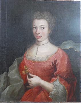 Musée Ernest Cognacq - Métisse en rouge