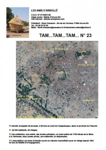 Couverture Tam Tam 2015