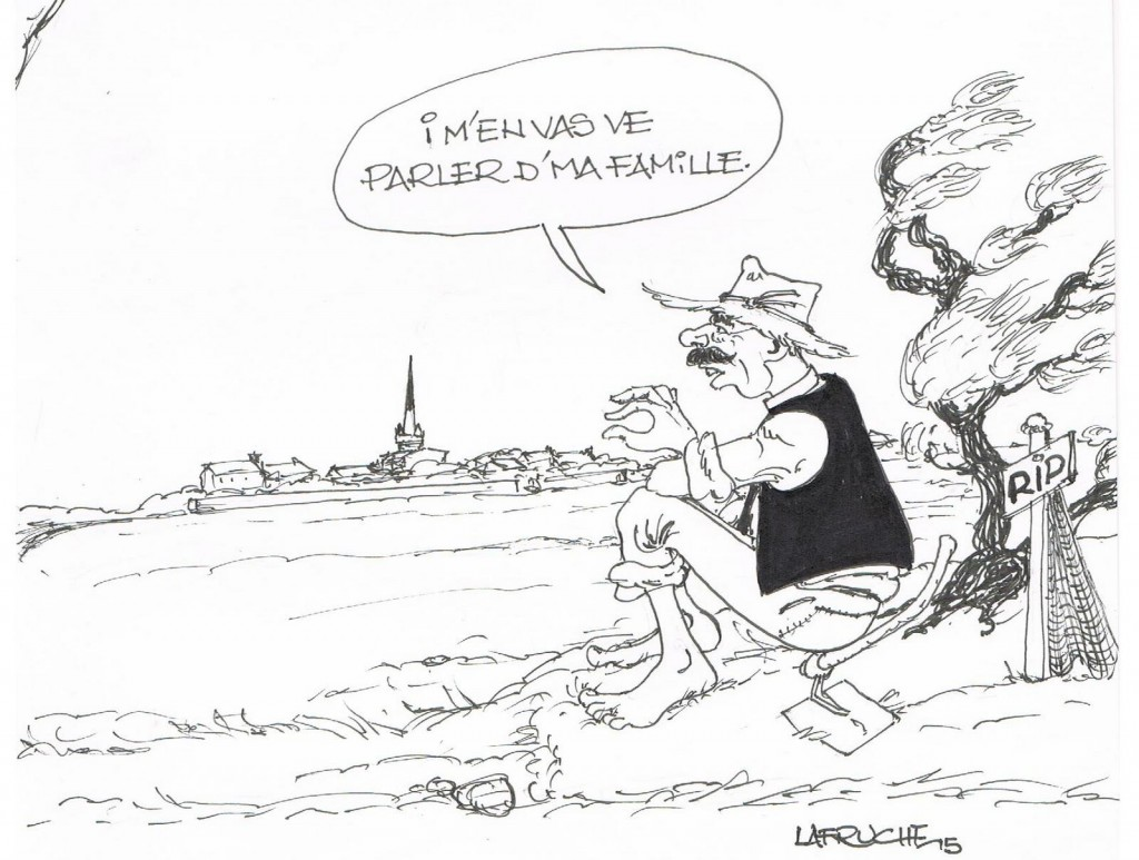 Histouère d'in paisan - Dessin Michel Fruchard