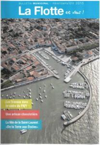 Bulletin municipal La Flotte - Printemps Eté 2015