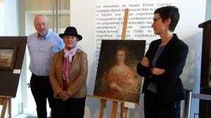 Présentation au Musée Ernest Cognacq - 1er octobre 2015