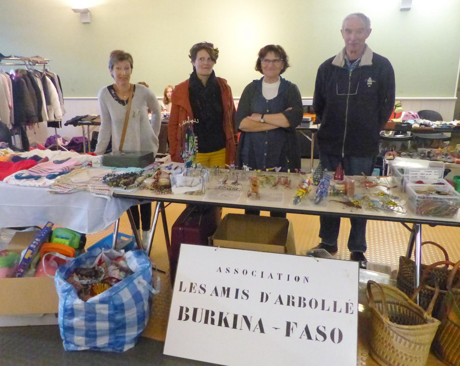 Amis Arbollé - Vente à Ars - 25 octobre 2015