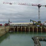 Port de la Flotte, un mois 1/2 de travaux