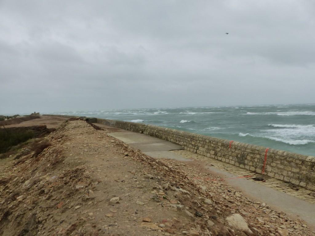Saint-Clément des Baleines - Digue ouest - 20 novembre 2015