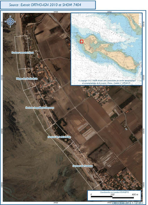 Projet reconstruction de la digue ouest de Saint-Clément des Baleines