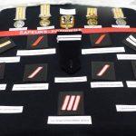 Pompiers : diplômes, galons et médailles