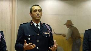 Colonel Pascal Leprince - Direceur départemental SDIS 17 - 22 janvier 2016