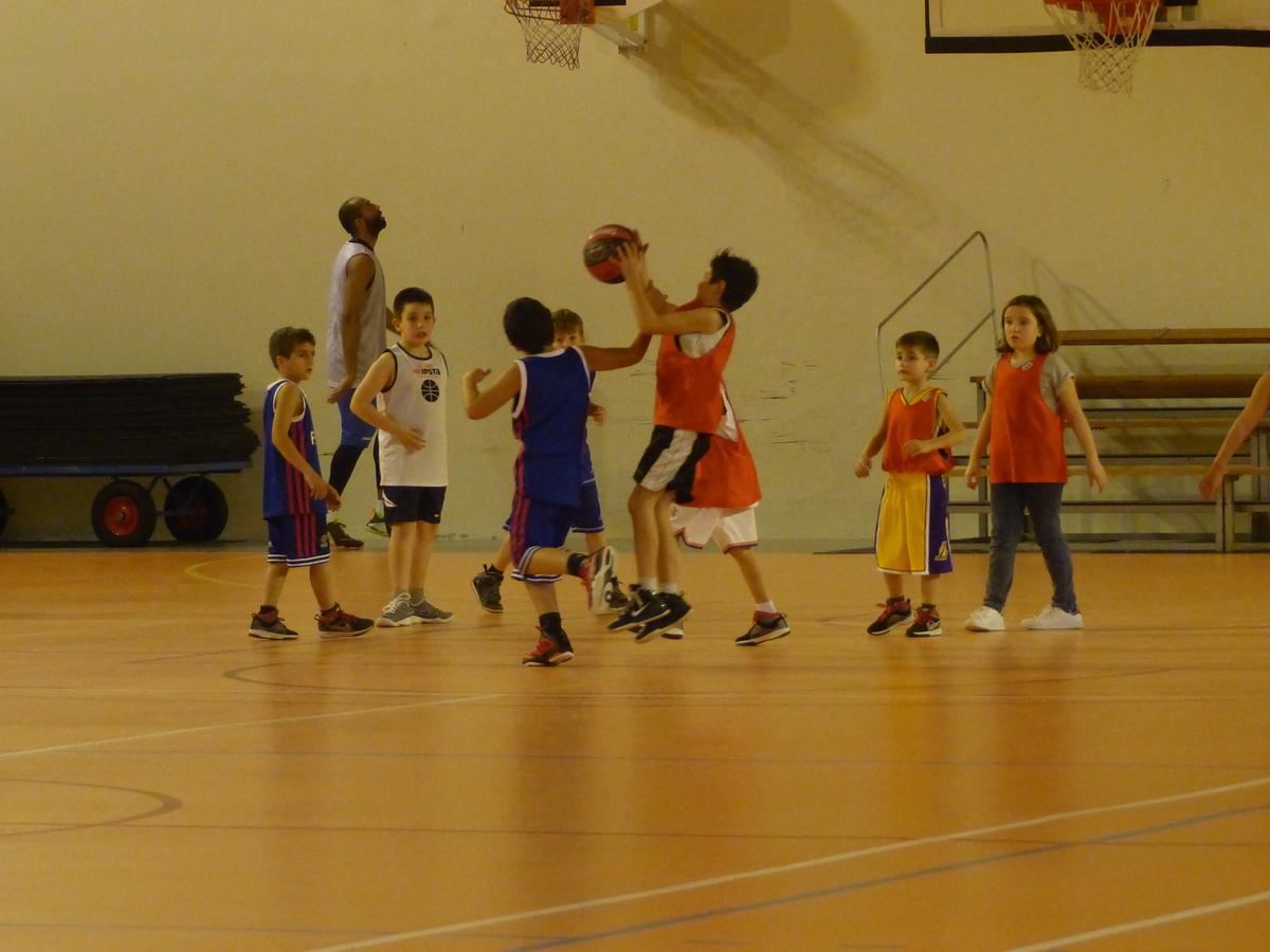 Basket des mini-poussins - janvier 2016