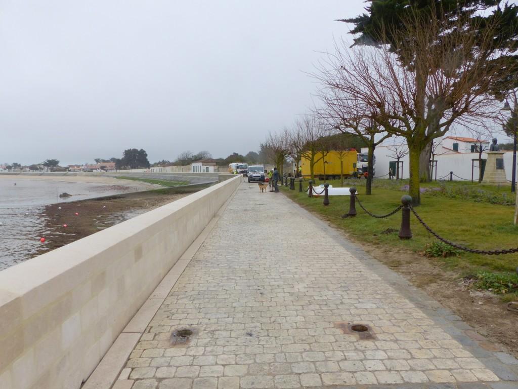 La Flotte - Travaux du port - 25 mars 2016