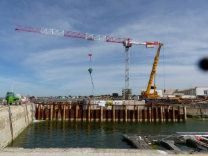 La Flotte - Travaux du port - 19 avril 2016