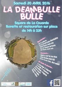 Affiche Déambulle couardaise - 30 avril 2016