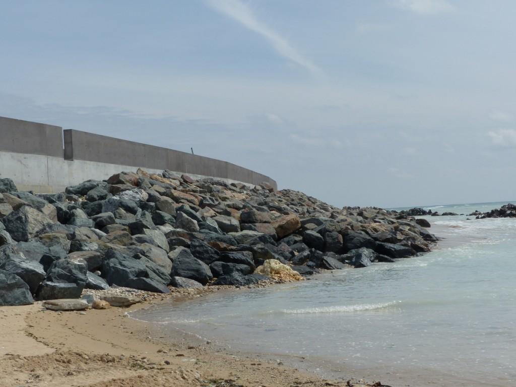 Saint-Clément des Baleines - Digue - Doreaux - 17 mai 2016