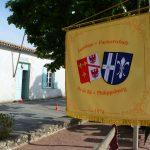 Le drapeau de jumelage flotte à l'île de Ré