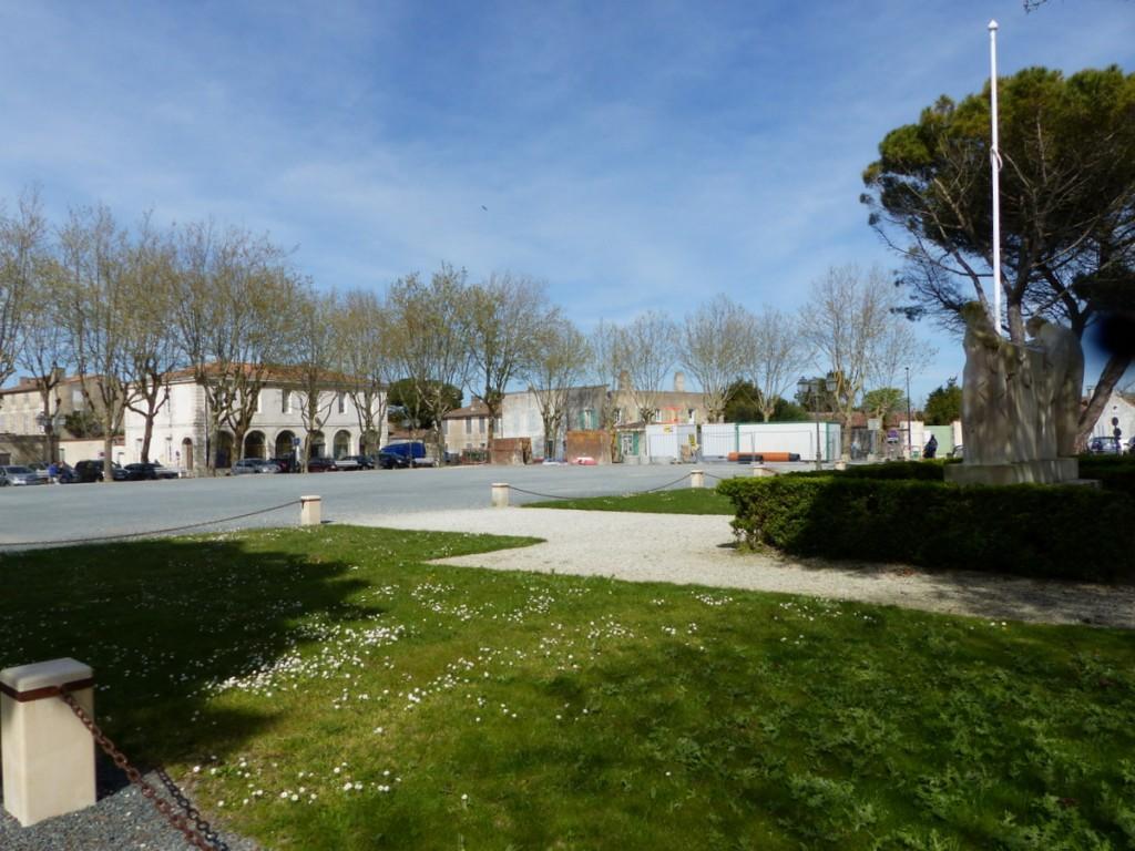 Place d'Armes - Saint-Martin de Ré - 19 avril 2016