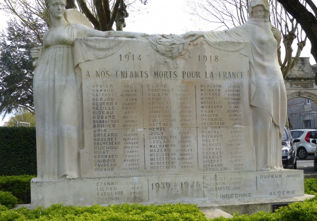 Saint-Martin de Ré - Monuments aux morts - 19 avril 2016