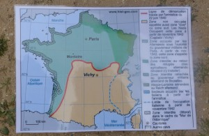 Carte de la France libre - Ile de Ré - 21 avril 2016