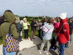 Visite de la porte Toiras - Sint-Martin de Ré - 21 avril 2016