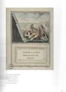 Gravure 17e siècle - Pierre Lanier