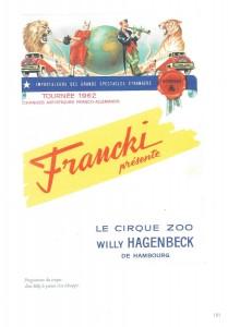 """Affiche Cirque évasion puma - Livre David Canard - Histoire illustrée de l'île de R"""""""