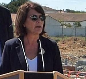 Gisèle Vergnon - Maire de Sainte-Marie de Ré - 25 mai 2016