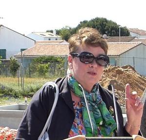 marie-Hélène Chevallier - Présidente de la CAF 17 - 25 mai 2016