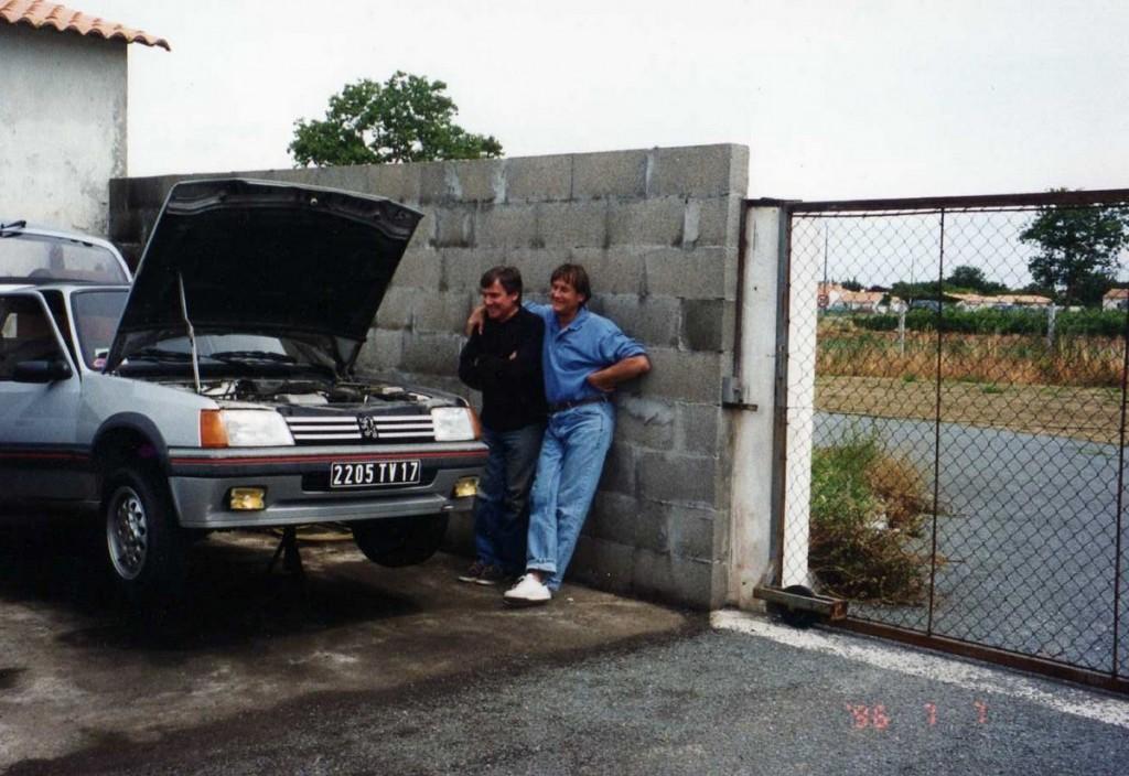 Bruno et José Mailhé