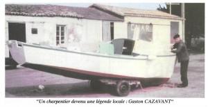 Gaston Cazavant  sur la cale