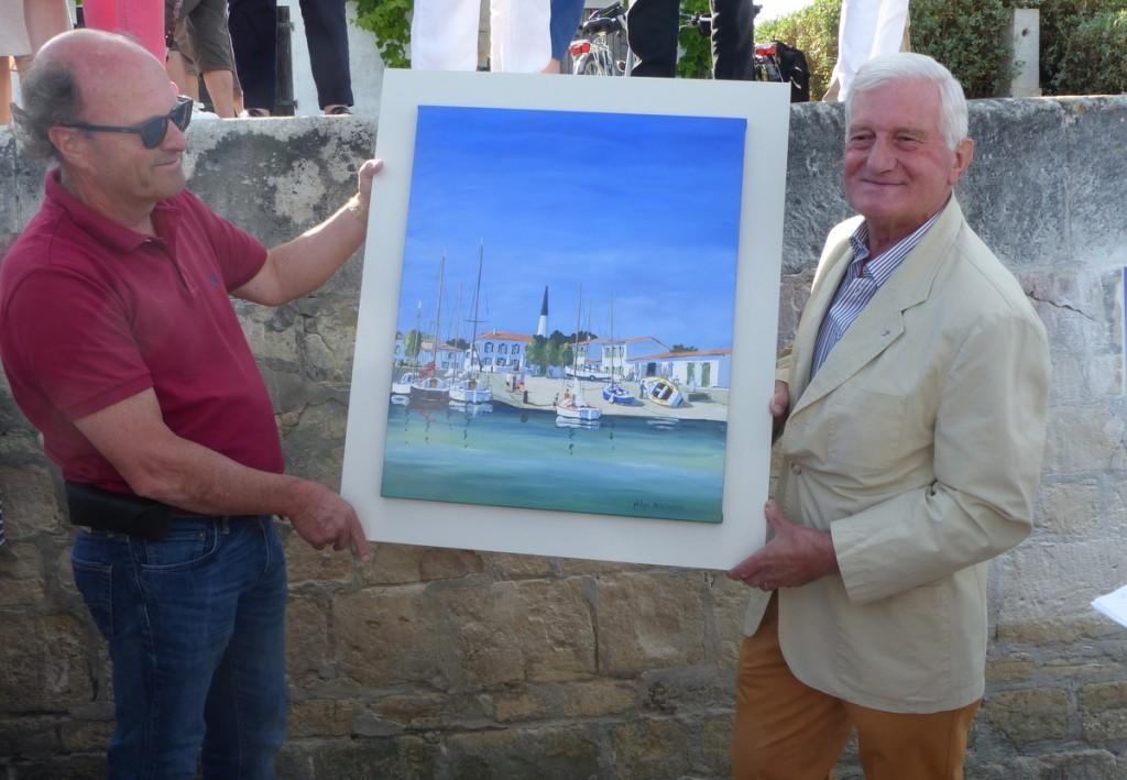 Philippe Deschamps - Artiste peintre - 8 juillet 2016