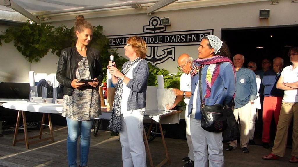 Adèle Raulet, Rosine Merlet et Laurence Jean-Bart - 4 août 2016