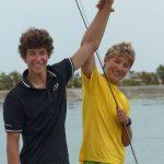Samuel et Paul, 49e champions du monde des Cazavants