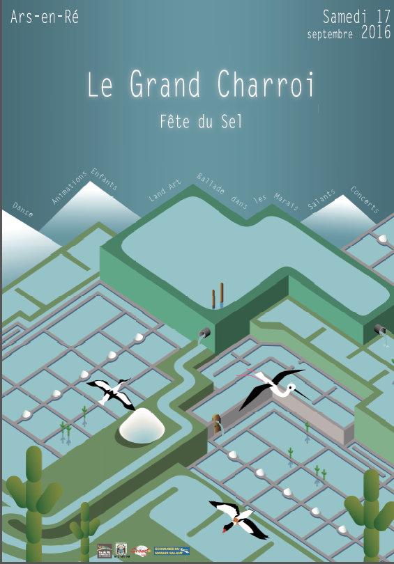 Affiche 3ème Fête du Sel - Ars-en-Ré - 17 septembre 2016