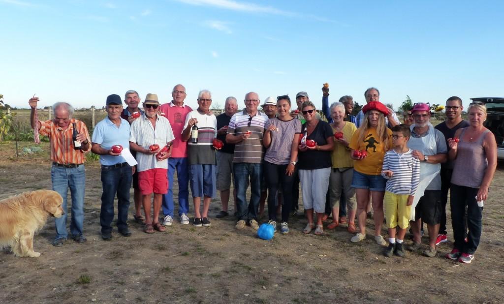 3ème prix de la plus belle tomate - Clos Benony - Saint-Clément des Baleines - 3 septembre 2016