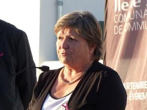 Dominique Rabelle, présidente de Habitat 17 - 17 octobre 2016