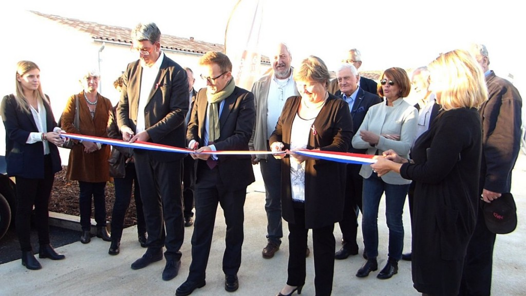 Loix - Inauguration logements de La Cure - 17 octobre 2016