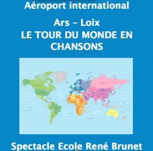 Je, tu, îles - DVD Tour du monde en chansons - juin 2016