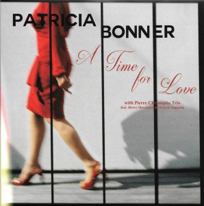 CD A Time for Love- Patricia Bonner - 28 août 2016