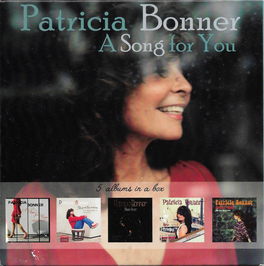 CD Patricia Bonner - A Song for You - 13 novembre 2016