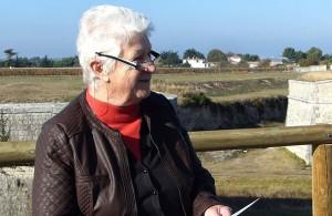 Lucette Noviel, présidente des Amis des Fortifications - 29 octobre 2016