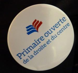 Badge Primaire Droite et Centre - 20 novembre 2016